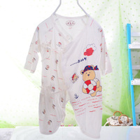 2014 New bamboo fiber baby clothing butterfly summer air conditioning models leotard onesie clothes