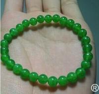 Free of charge 50 PCS 6 mm semi-precious stones bracelet