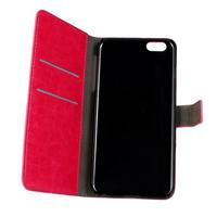 10pcs/lot Retro Crazy Horse Flip Leather Case Wallet Stand Cover for Apple iPhone 6 plus 5.5  Phone Bag