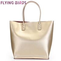 FLYING BIRDS! new style luxury women genuine leather handbags shoulder bag Women messenger bags export free shipping LS3792c