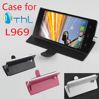 Thl L969 Case 100% Original High Quality Brand New Leather Flip Case Cover For Thl L969 Smart Phone 3-colors Free Shipping