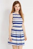 #YZX860 Free Shipping Top Quality 2014 New Women Sleeveless Dresses Ladies Print Spring Summer Autumn Dress