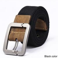 New 2014 Men's Belts Fashion Casual men belt buckle canvas real leather fashion canvas belt for men