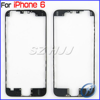 """For iphone 6 4.7"""" Front Glass Bezel Frame Repair Part For iPhone 6 LCD Bracket Free Shipping"""
