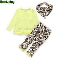 Retail ! Children clothing sets Boys and girls sleeveless hoodies cartoon big eyes tops+ pants Little Spring GLZ-T0122