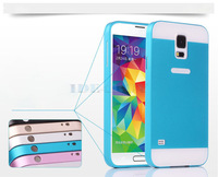 Luxury Thin Metal Bumper Hard Back Case Cover for Samsung Galaxy S5 S V I9600 1pc Free ship
