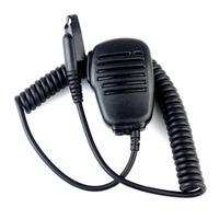 Black Handheld Shoulder Mic Speaker Microphone for Motorola Two-way Radios GP328plus GP338plus GP388 GP344 EX500 EX560  J6147A