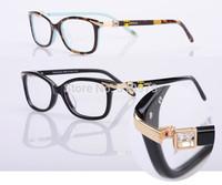 Free shipping vintage  eyeglasses frame women brands myopia ladies eyewear glasses  top quality rhinestone  optical frame