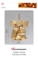Free shipping  Christmas tree ornaments Christmas ornaments and gold bow Christmas Longzhong