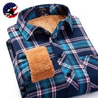 2014 Super Warm Men's Winter Designer Shirts/free Shipping Luxury Plaid Shirt Men Brand/high Quality Plus Size Thicken Shirts
