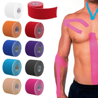 Free Shipping! 5cm x 5m Kinesiology Kinesio Roll Cotton Elastic Adhesive Muscle Sports Tape Bandage Physio Strain Injury Support