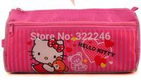 10pc/lot  Factory Sale Fashion Hello kitty pencil bag pen canvas bag   21*10*2.5cm   PB91801