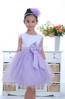 Girls Summer Dress Children wedding princess Dress Flowers Girls Formal Dress Tutu Veil Dancing Dress