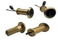 5.8G Wireless Door Peephole Camera--TE50 (Pure brass material;13.8mm diameter;90 degree VOA;0.008lux;720X480pix;100m range)