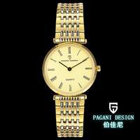 2014 Luxury Brand Pagani(cx - 1001) Design Retro couple watches  slim and stylish sapphire watch
