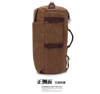 New arrival Men's Vintage Canvas Backpack Travelling bag hiking bag Single and double shoulder bag free shipping 50cm*28cm*28cm