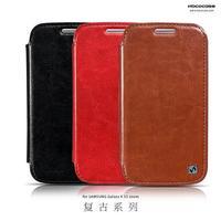 Original HOCO Retro Series Flip Leather Case For Samsung Galaxy S5 K Zoom C1158 ,+Retail + Free shipping