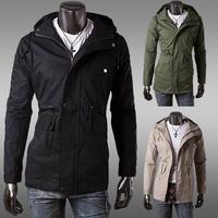 2014 New Men's Outwear  Men coat and jackets  Jacket  Autumn Coat Men Clothes New Style Jacket  Asia Size M-XXXLZJK41