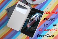"Original SANTIN S8 4.5"" IPS  Support 3G/4G network GPS MTK6592/MTK6582 8GB ROM 2GB RAM S960 P780 13MP  Single sim Cell Phone"