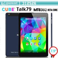 Original Cube Talk79 u55gt Talk79 Octa Core 3G Android 4.4 Tablet PC 7.85 inch IPS Screen Support Bluetooth Phone Call OTG GPS
