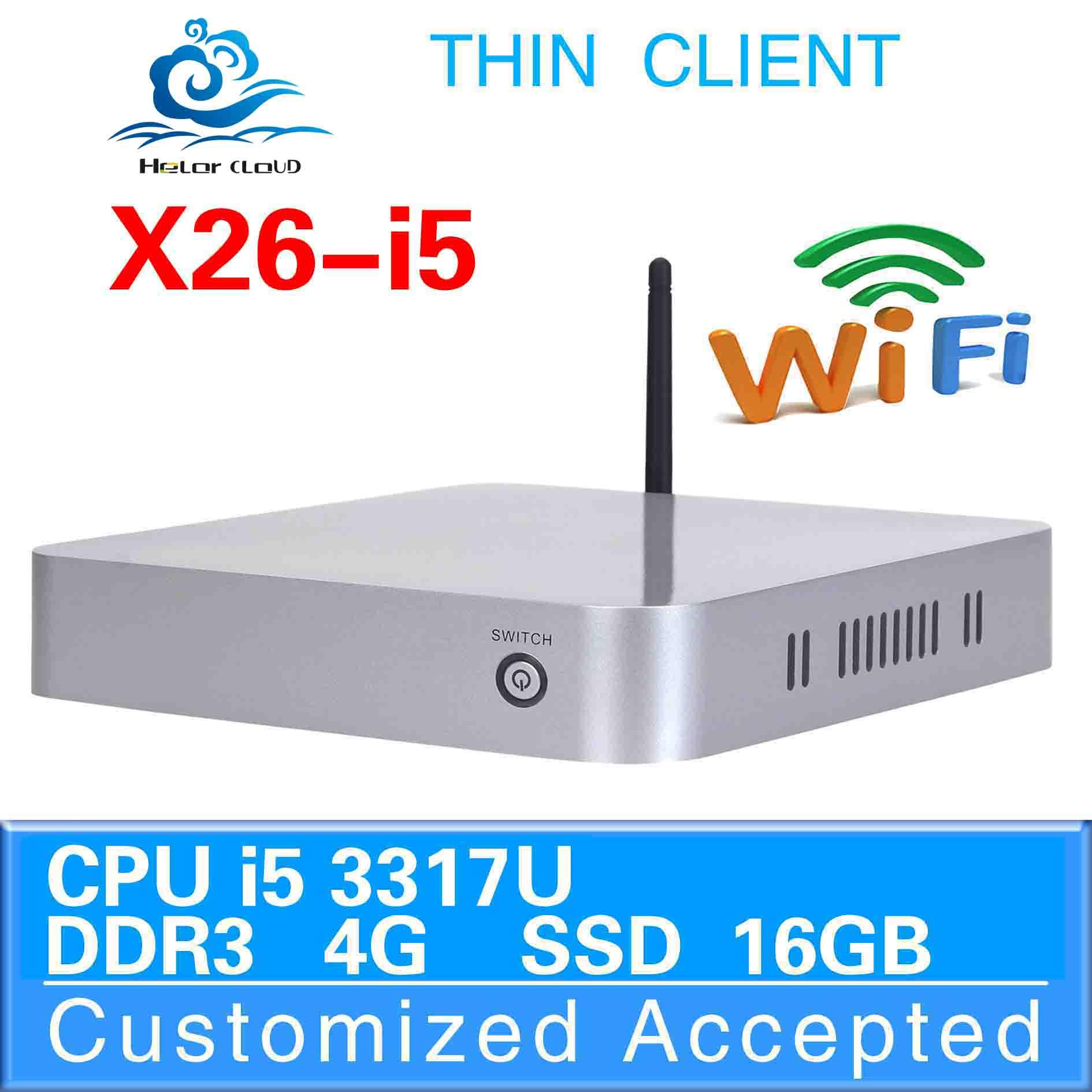 Joystick ,Pointing device factory desktop computer X26-I5 3317U 4G ram 16G ssd high performance 3D graphics(China (Mainland))