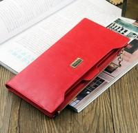 Wallet 2014 New arrival! gentlewoman wallet fashion ladies wallet,women's bowknot purse,clutch bags1 pc wholesale RED N1210-9R