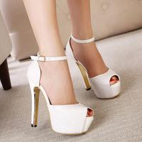 women's high heels platform sandals open toe sexy sandals Princess shoes sy-681