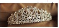 2013 European Royal Court shall marry the bride wedding tiara crown chic big flash drilling