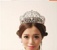 European Princess tiara crown bridal headdress hair bands