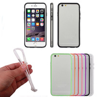Scolour Slim Border Shockproof Bumper Frame Case Cover for iPhone 6 Plus 5.5 Freeshipping& wholoesale