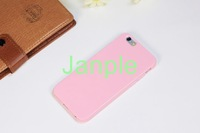 100pcs/lot For Apple iPhone 6 Case 4.7 inch Slim Candy Solid Color Jelly Sweet Soft TPU Rubber Silicone Gel Cover Phone Cases