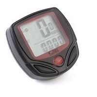 Digital LCD Cycle Computer Bicycle Speedometer 13 Functions Odometer Speed