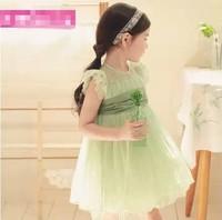 baby Children's Lace children fairy princess dress tulle dress christmas girls baby wedding dress