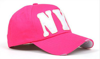 Hot sale Cotton Baseball Cap Adjustable Spring 2014 Brand New Hat letter Women Casual Caps free shipping  S022