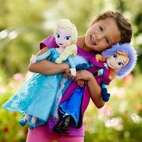 Spot 40cm ice romance Plush Doll Ayesha Elsa, Anna Princess Anna plush toys