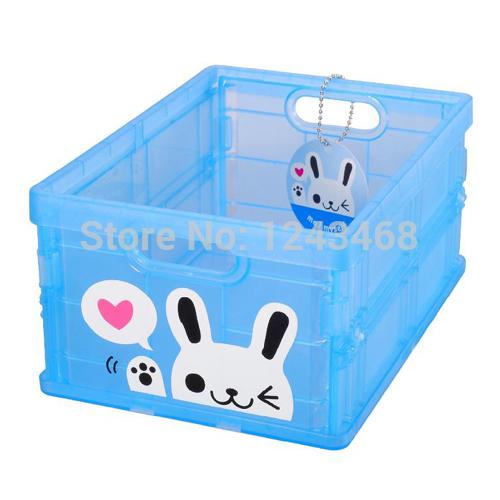 Cartoon Pattern Mini Folding Toy Storage Small Box(China (Mainland))