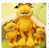 Free shipping 20cm Plush doll cat garfield toy birthday gift children's day present kids toy christmas gift
