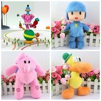 Hot toys POCOYO small P UU Elly elephant Bartow plush toy doll