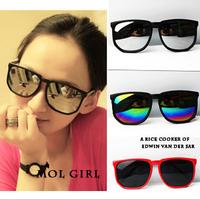 2014 Fashion Vintage Square Sun Glasses Men & Women UV400 Protection Optical Shades Oculos Gafas Goggles Colored Sunglasses