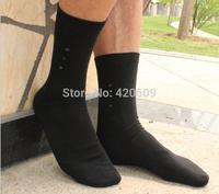 High Quality Fashion Men Bamboo Fiber Socks Deodorizing sweat Elite Socks Solid Casual Socks For Men Breathable meia Socks