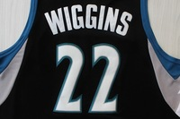 Fast  Shipping Wholesales Price Andrew Wiggins 22# jersey new style   Minnesota #22 rev 30 man size S M L XL XXL