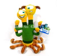 Free shipping Original Monsters University Plush Toy Monsters Inc Terri & Terry 27cm Toys Dolls For Children