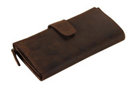 NEW men wallets vintage genuine leather wallet purses and handbags bolsas femininas
