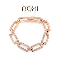 Euopean style Luxury women bracelet ROXI 2014 autumn new design silver color bracelets birthday gift fashion jewelry rhinestone