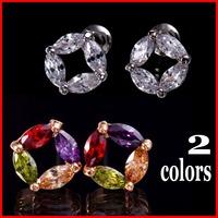 Allergy Free Fashion AAA Swiss CZ Brand Earrings For Women CZ Party Jewelry - SKBTQ