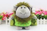 2014 New Movie Frozen Toys frozen trolls 28 cm plush toys stone monster PP Cotton Stuffed frozen troll plush Dolls Free shipping