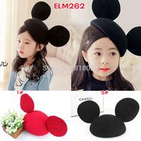 2014 Hot High Quality Wool Woolen Felt Hat Cute Big Ear Fedoras Baby Girls Cap Chapeu Feminino Free Shipping