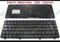 New Laptop keyboard for HP Pavilion dv4 dv4-1000 Matt Black Teclado Latin American LA Version - V071802KK1