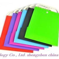 Free shipping! Wholesale high quality opp minimalist modern shopping bags, handbags, paper bags color random