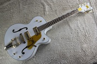 Classic  F-hole Jazz Large rocker White Falcon electric guitar